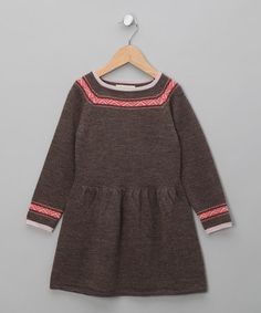 Save Now on this Cocoa Ina Merino A-Line Dress - Toddler & Girls by Poppy Rose on #zulily today!