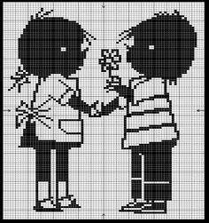 Jip and Janneke Embroidery Pattern