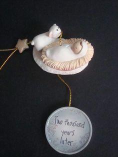 Lifesighs Baby Jesus Ornament