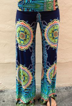 Exumas Pants Preppy - Boca Leche