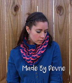 Amazing knitted cowl in three different sizes!