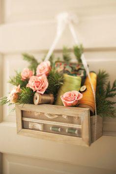 Sewing Kit Basket