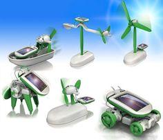zonne-energie kit 6 in 1 solar kit educatief speelgoed