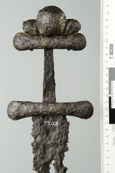 """Late Germanic Iron Age """"Prestige Swords"""", Denmark. -- myArmoury.com Swords And Daggers, Knives And Swords, Iron Age, Viking Sword, Viking Age, Anglo Saxon, Roman, Dark Ages, Weapons"""