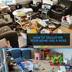 How To Declutter Your Home Like A Boss
