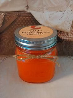 8 oz Heart Warmer Candle for Fall scented by HeartWarmerCandles