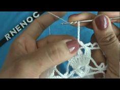 3 DE 13 COMO TEJER PASO A PASO VESTIDO SALIDA DE ALBERCA GANCHILLO CROCHET - YouTube