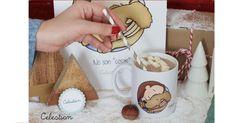 Los cafés saben mejor cuando se toman en tazas tan amorosas como ésta. #tazas #perros #gatos #cafe #regalos #navidad #pinterest