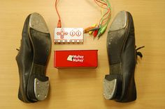 Picture of MakeyMakey Tap Shoes