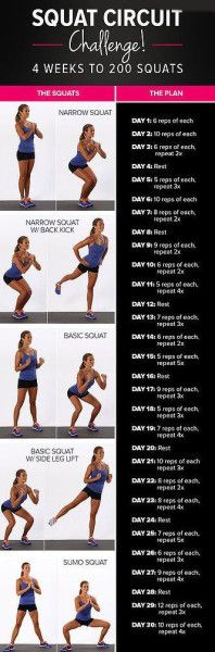 30 Day Squat Challenge // # pinaholicmyrie