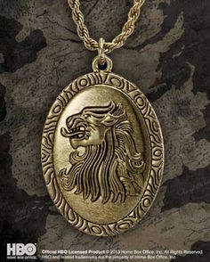 Cersei Lannister's Pendant Product Detail - things I really want but shouldn't spend money on
