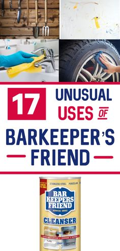 Barkeeper's friend is a great cleaner for home with so many amazing cleaning hacks it has. Cleaning tips for barkeeper's friend ranges from cleaning rust stains to even removing sticky residue from things easily. These awesome cleaning hacks are a must-know for anyone who prefers natural cleaners for their household cleaning. Glad I could find these awesome cleaning tips and tricks of Barkeeper's friend. Diy Home Cleaning, Green Cleaning, Diy Cleaning Products, Cleaning Solutions, Spring Cleaning, Cleaning Hacks, Cleaning Rust, Cleaning Recipes, Bar Keepers Friend