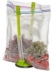 it's a baggie holder=genius