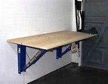 Wall Mounted Folding Workbench The Wood Whisperer