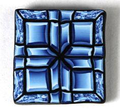 Polymer Clay Cut Glass Cane Tutorial by PolymerClayWorkshop