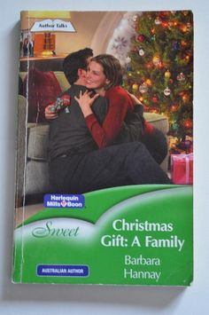 sweet , mills and boon p/backchristmas gift: a family.by barbara Christmas Gifts, Best Deals, Paper, Sweet, Ebay, Xmas Gifts, Candy, Christmas Presents, Xmas Presents