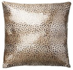 Kylie Minogue Leopard Ivory Complete Cushion
