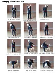 printable chair exercises for seniors  bing images