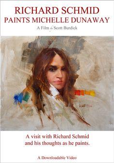 Richard Schmid Paints Michelle Dunaway