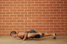 3. Knee-to-Elbow (Spiderman) Push-Up