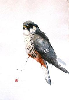 Hobby - Karl Martens - watercolor
