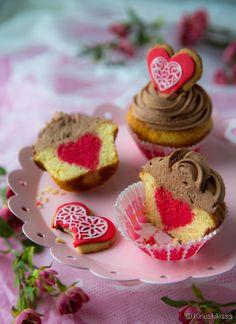 Ystävänpäivämuffinssit | Reseptit | Kinuskikissa