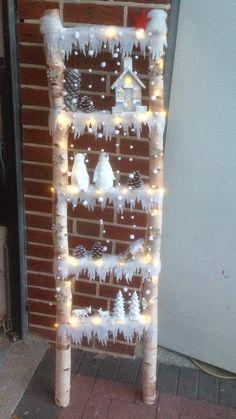 Diy Christmas Decorations Easy, Diy Christmas Tree, Christmas Centerpieces, Rustic Christmas, Christmas Projects, Simple Christmas, Christmas Wreaths, Christmas Crafts, Christmas Ornaments