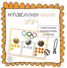 Kleuterjuf in een kleuterklas: Hoeveel Olympische medailles heeft Nederland al gewonnen? | Thema SPORT