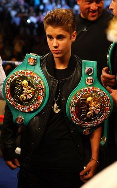 Justin Bieber! He would've been pretty smooth in the ring