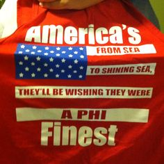 """I like """"They'll be wishing they were alpha xi's"""" :P"""
