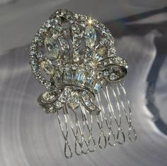Vintage 1950 Bridal Crystal Rhinestone by ButterflyEffectInc, $65.00#Repin By:Pinterest++ for iPad#