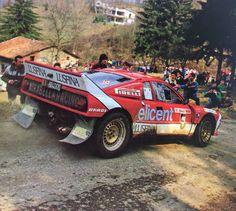 Giacomo Bossini Lancia Rally 037 Rally Mille Miglia 1986