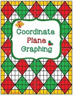 Coordinate plane graphing holiday graphing ordered pairs and