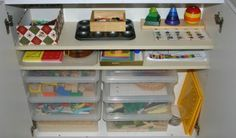 Toddler busy boxes