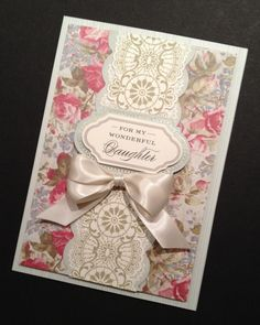 ShabbySweet Fancy Floral Mother's Day Card by PinkPetalPapercrafts