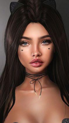Art And Illustration, Art Illustrations, Fashion Illustrations, Chica Fantasy, Fantasy Girl, Dibujos Tumblr A Color, Girl Artist, Drawing Artist, Digital Art Girl