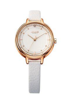 Julius Watch JA-905C Fashion Watch Women`s Leather Strap Watch