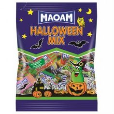 A mix of Maoam sweets specially selected for Halloween. Great for trick or treaters.