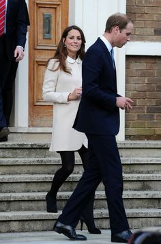 William and Catherine visit the offices of Child Bereavement UK in Saunderton, Buckinghamshire 19 Mar 2013