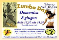 ZUMBA DAY Tiberio Wellness www.tiberiowellness.it