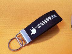Schlüsselbänder - Schlüsselband Vape/Dampfen E-Zigarettenspruch - ein Designerstück von Dampfer-Taschen-Joclame bei DaWanda