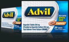New fast-acting Advil debuts in a soft-touch carton