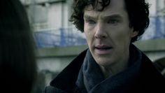"""Sherlock """"crying"""""""