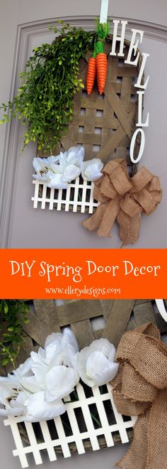 DIY Front Door Decor