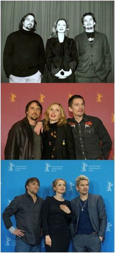 Richard Linklater, Julie Delpy, Ethan Hawke BEFORE SUNRISE (1995) BEFORE SUNSET (2004) - BEFORE MIDNIGHT (2013)