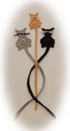 kitty applique ~ crochet pattern