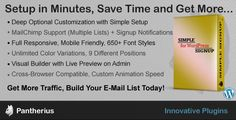 Shopping Simple Signup - WordPress Email Subscription Formtoday price drop and special promotion. Get The best buy