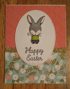 My Creations with Michelle: February SOTM Blog Hop - Easter Bunny