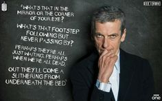 Doctor Who has the best creepy nursery rhymes. Remember Tick, Tock Goes the Clock? Best creepy nursery rhyme ever!< Tick Tock, goes the clock, even for the Doctor. Doctor Who Poem, Doctor Who Quotes, 12th Doctor, Twelfth Doctor, Creepy Nursery Rhymes, Bbc One, Don't Blink, My Tumblr, Dr Who