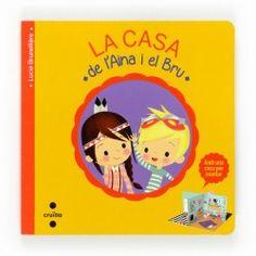 La casa de l'Aina i el Bru Llibre joc Albin Michel Jeunesse, Libros Pop-up, Editorial, Patio, Family Guy, Books, Fictional Characters, Products, Short Stories